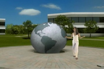 Supermodel Cici at the view3d.tv campus